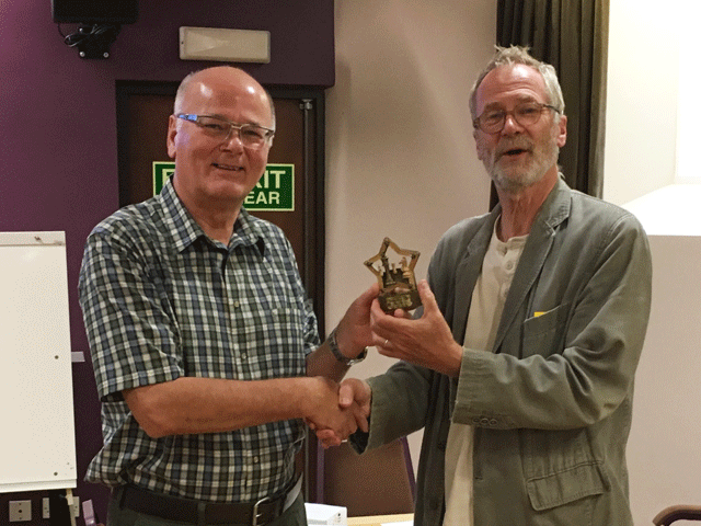 Tony Tatam (Plymouth) was Rapidplay Player of the Year.